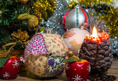 Magical Christmas picture Stock Image