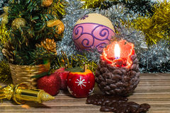 Magical Christmas picture Stock Photography