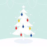 Magical Christmas Tree Royalty Free Stock Image