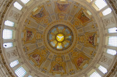 Magical Dome of Berlin Cathedral Stock Photos