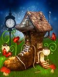 Magical dwarf's house Stock Photos