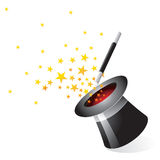 Magical Equipment - Hat royalty free illustration