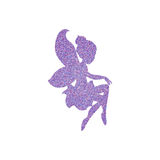 Magical fairy with dust glitters. On white background Royalty Free Stock Photography