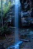 Magical Falls. Magic light falls on falls royalty free stock photo