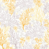 Magical floral seamless pattern background Royalty Free Stock Photo