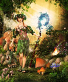 Magical Forest Fairy Royalty Free Stock Photos