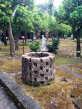 In this magical garden if Sorento. In Sorento if this magical garden, with statues of the famous gardens of the wells is remarkable Stock Photography