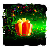 Magical Gift Royalty Free Stock Photo