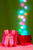 Magical gift box Royalty Free Stock Photography