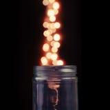 Magical Glass Jar Royalty Free Stock Photo