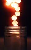 Magical Glass Jar Royalty Free Stock Photos