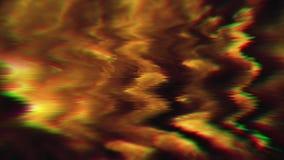Magical glitch imitation flare glittering background.