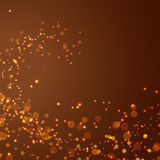 Magical glittering christmas abstract background Stock Photo