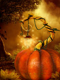 Magical Halloween Background Royalty Free Stock Images