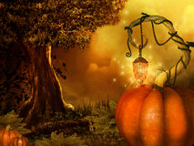 Magical halloween background Royalty Free Stock Photography
