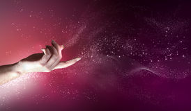 Magical hands conceptual image Stock Image