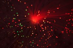 Holiday disco bokeh background Royalty Free Stock Photos