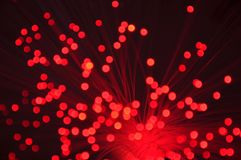 Holiday disco bokeh background Royalty Free Stock Photography