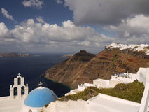 Magical island of Santorini Stock Photography