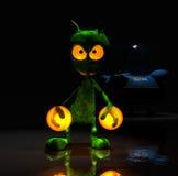 Magical little cartoon alien character Stock Photos
