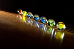 Magical Marbles Royalty Free Stock Image