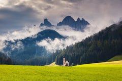 Magical mountain landscape Stock Photos