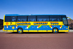 Magical Mystery Tour Bus In Liverpool Royalty Free Stock Photography