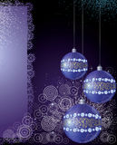 Magical New Year's background Royalty Free Stock Photos
