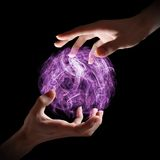 magical orb royaltyfri fotografi