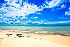 Magical paradise beach of the Caribbean sea Stock Image