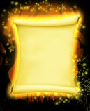 Magical Parchment Royalty Free Stock Image