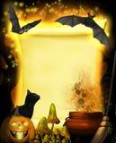 Magical Parchment Stock Photo