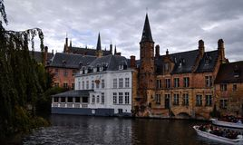Magical place. S in Brugge Royalty Free Stock Images
