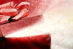 Magical Present Royalty Free Stock Images