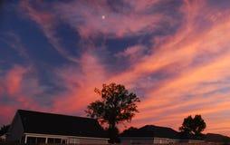magical sky Royaltyfria Foton
