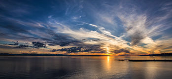 Magical sky Stock Image