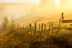 Magical sunrise Stock Image