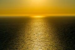 Magical Sunset on Zakynthos royalty free stock photos