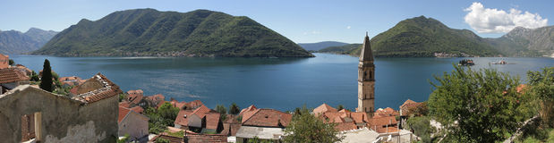 Magical town of Perast. Royalty Free Stock Photos