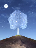 Magical tree Royalty Free Stock Image