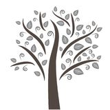 Magical tree illustration stock photography