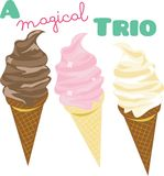 Magical Trio Royalty Free Stock Image
