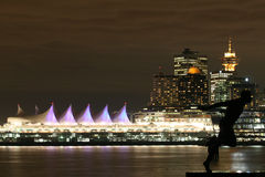 Magical Vancouver Skyline royalty free stock image