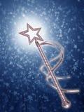 Magical wand Stock Image