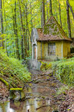 Magical Water House Royalty Free Stock Photography