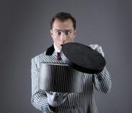 Magician's portrait Stock Image