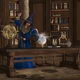 Magician 01 royalty free illustration