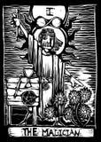 The Magician stock illustration