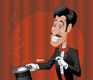 Magician Royalty Free Stock Photography
