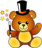 Magician bear Royalty Free Stock Photo